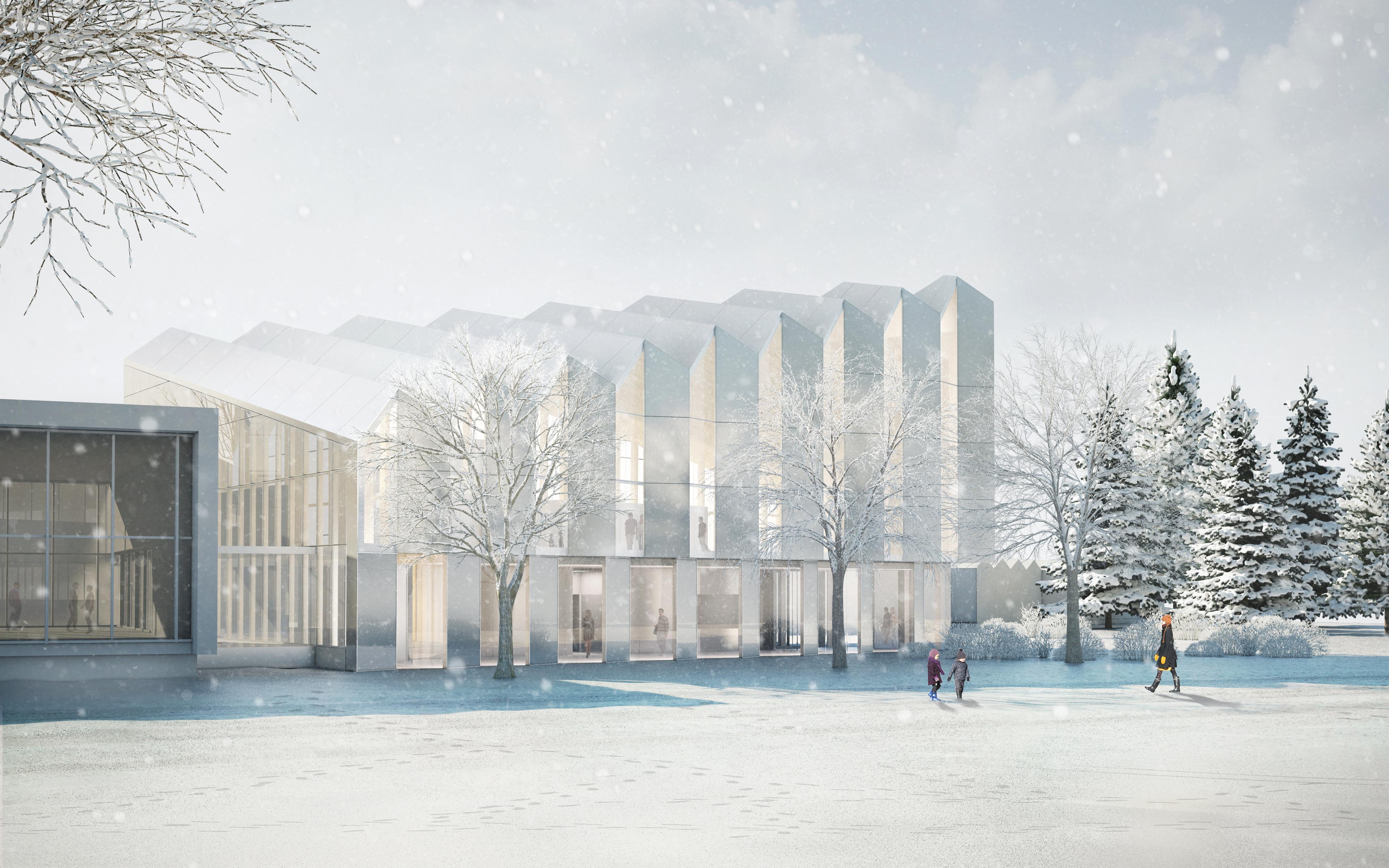 The young architectural firm of pelletier de fontenay wins - Pavillon de jardin ...