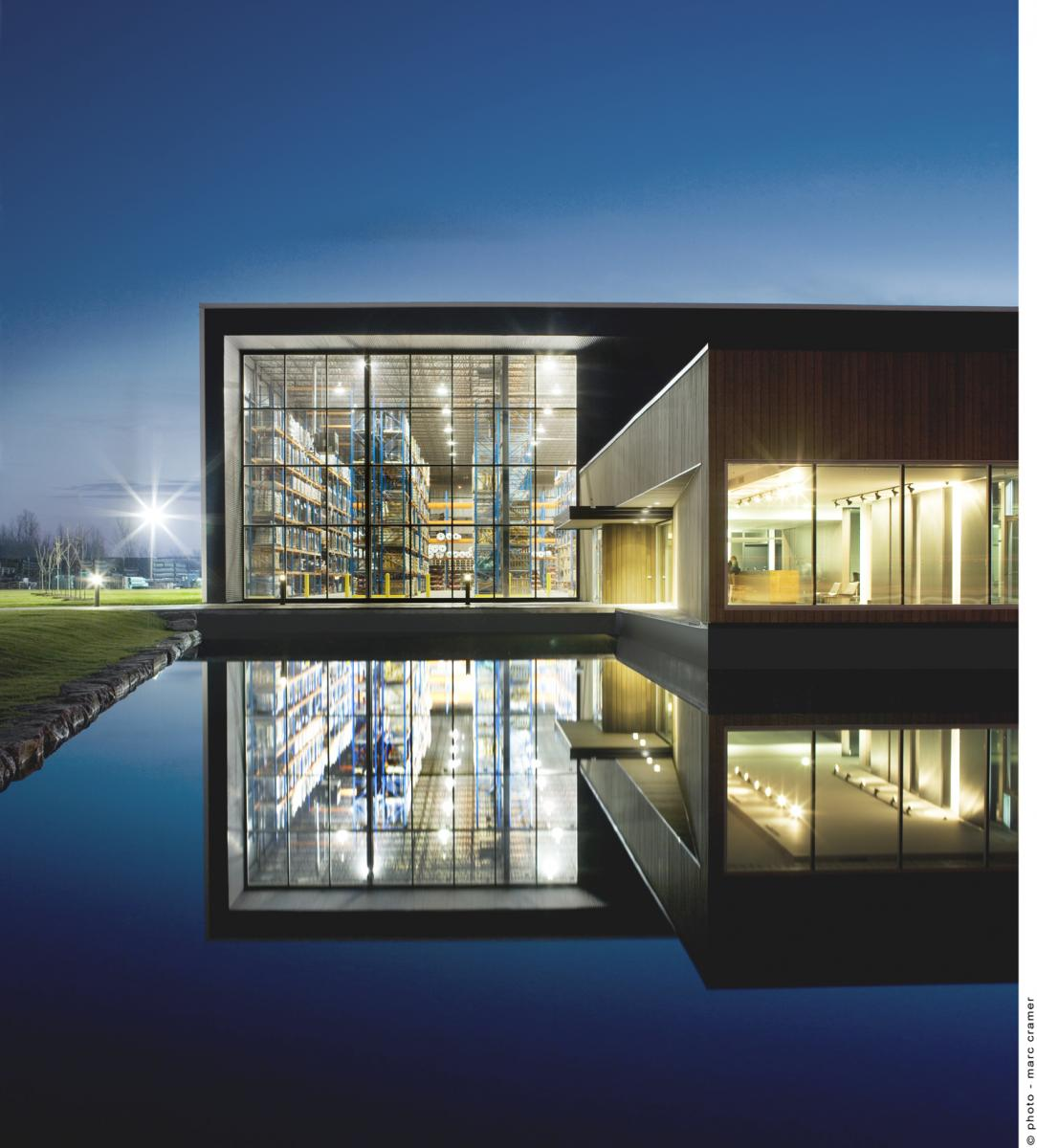 Siège Social De Saint Germain égouts Et Aqueducs, Saint Hubert, Québec,. AR  Architecture; IN Interior Design ...