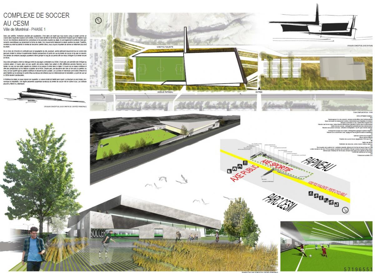 Bélanger Beauchemin Morency architectes & urbanistes S.E.N.C. et Atelier Guy Architecte