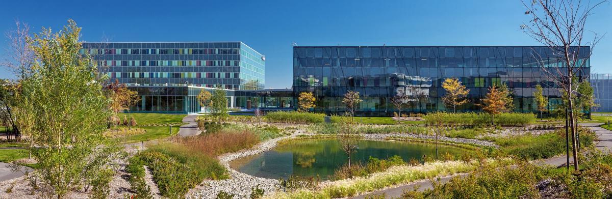 Landscape Architecture Of Ericsson Headquarters Montral 2016