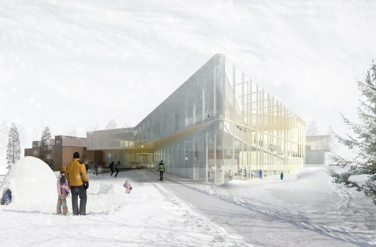 Pierrefonds Public Library Design Montr 233 Al