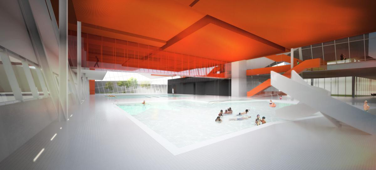 Complexe sportif saint laurent design montr al for Designer interieur gatineau
