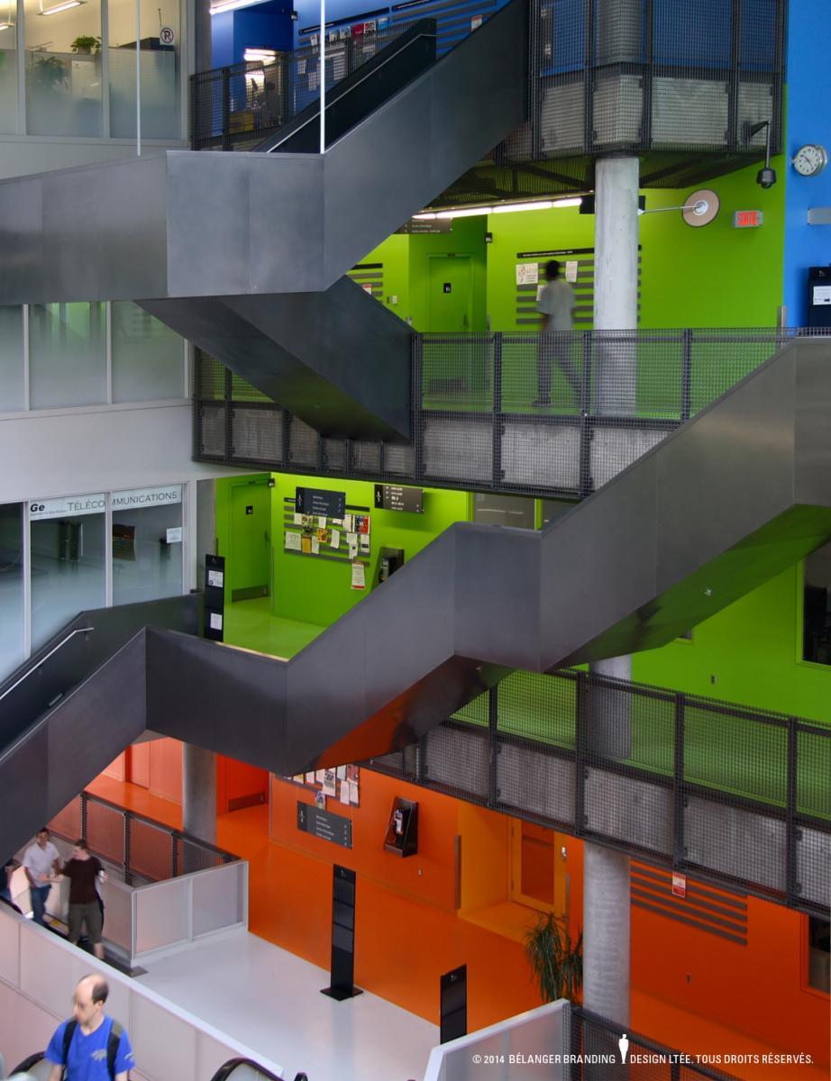 B langer branding design design montr al for Ecole de design interieur montreal