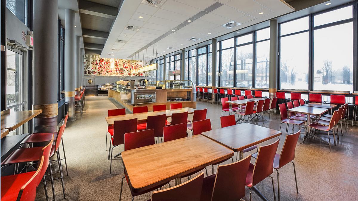 Km architecture am nagement emond kozina mulvey for Restaurant jardin montreal