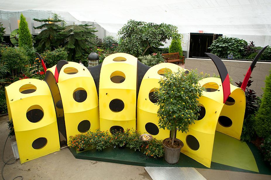 Extension concepts design montr al for Jardin botanique montreal 2016