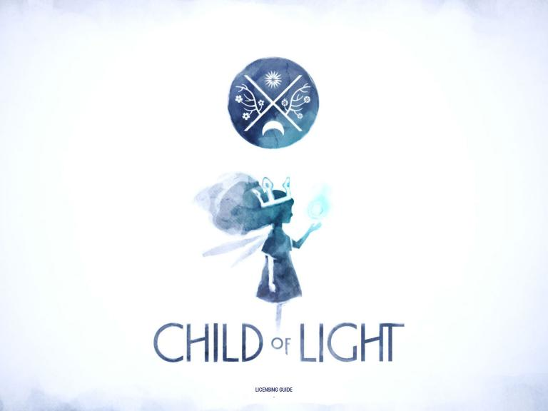 Logotype Child of Light, Montréal, 2013