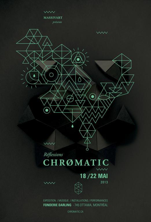 Identité Chromatique, Montréal, 2013
