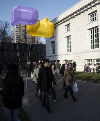 Concept d'identité visuelle pour les Les Portes Ouvertes Design Montréal, 2009
