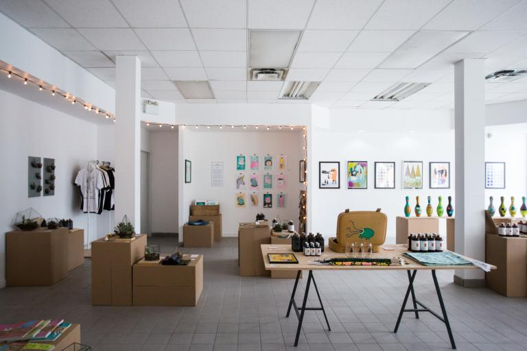 Novembre pop-up shop, Montréal, 2015