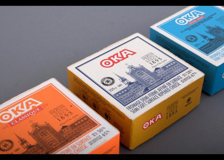 Oka, packaging, 2007