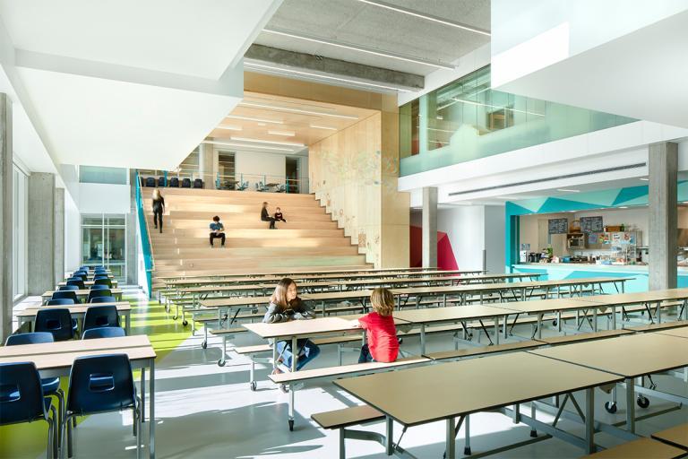 École innovatrice de l'Agora et Tourterelle, Longueuil, 2019
