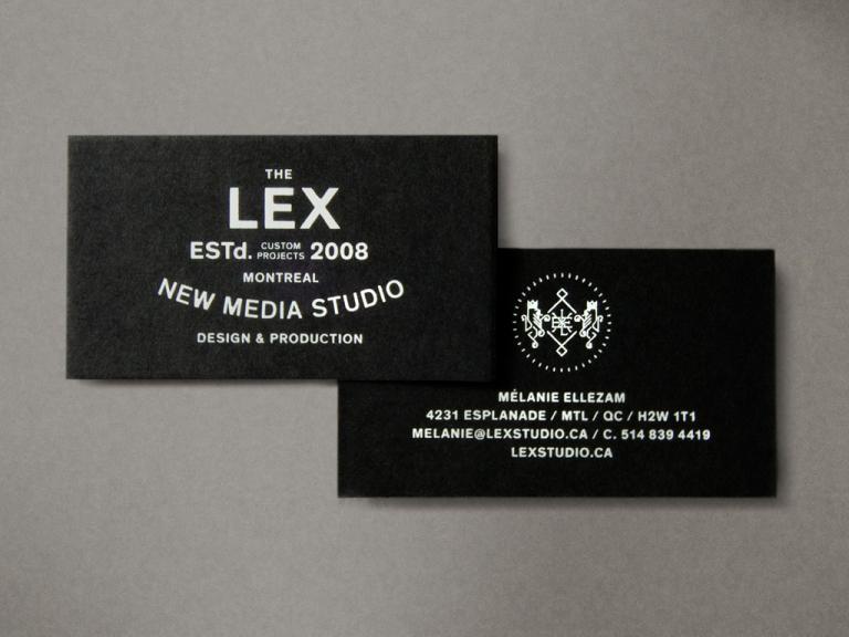 LEX, branding, Montreal, 2013