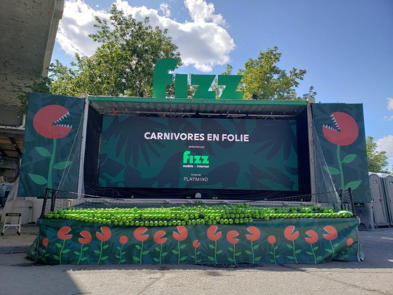 Carnivores en Folie, Festival Mile Ex End, Montréal, 2019