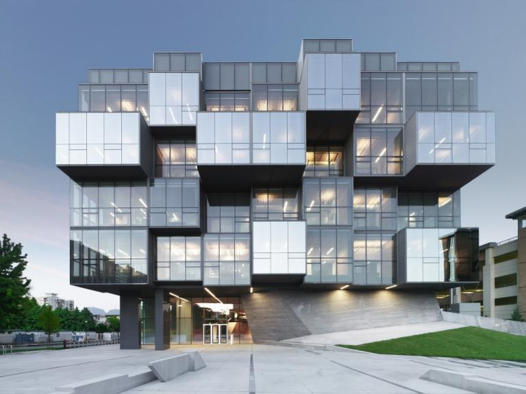 UBC Pharmaceutical Sciences Building,Vancouver, British Columbia, 2011