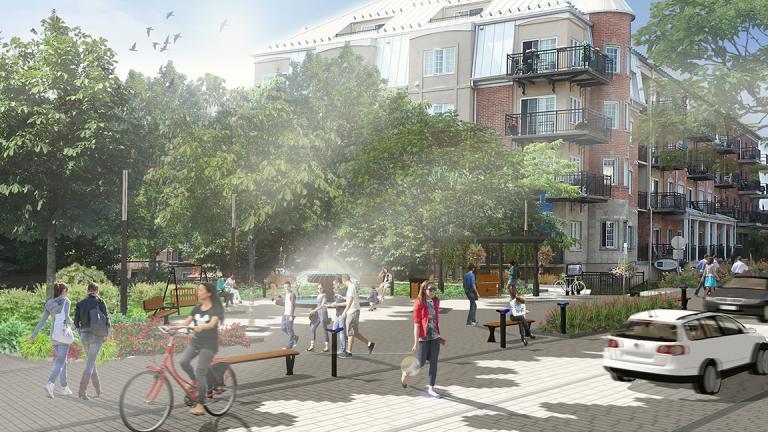 Plan directeur de design urbain, Saint-Eustache, 2017