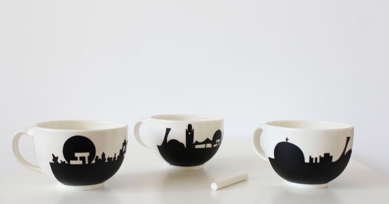 Panorama de Montréal — Wide Mug