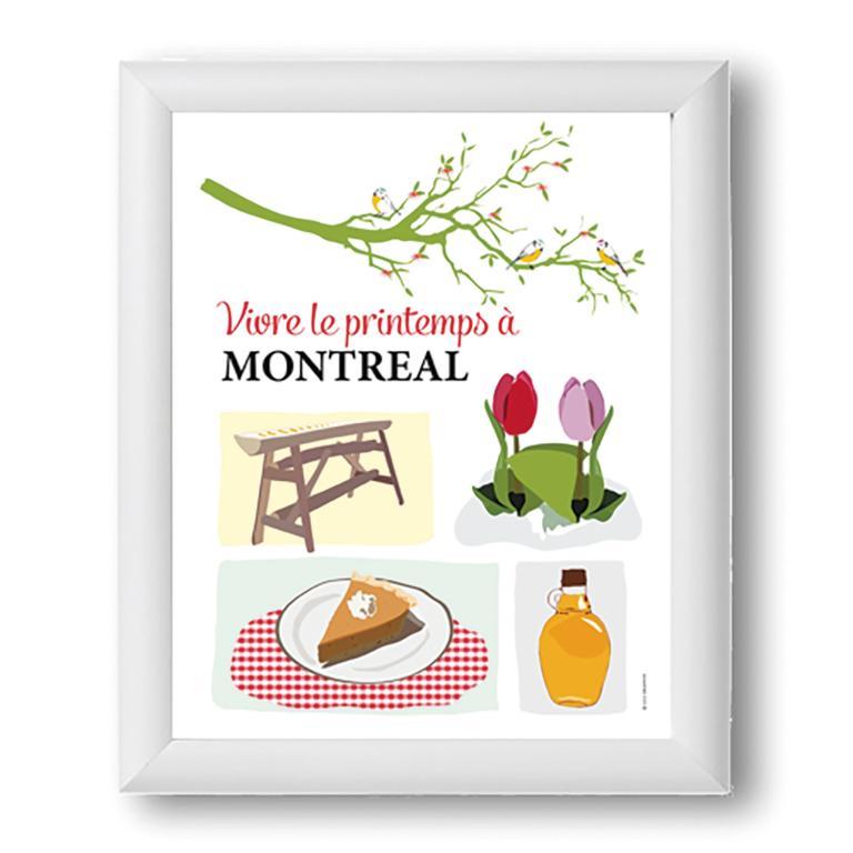 Prints — Vivre le printemps à Montréal