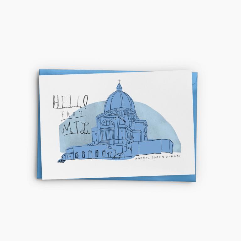 Souvenir de Montréal — Greeting Cards (Oratory)