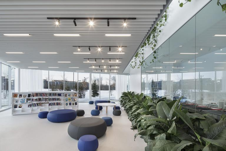 Bibliothèque Donalda-Charron, Gatineau, 2021