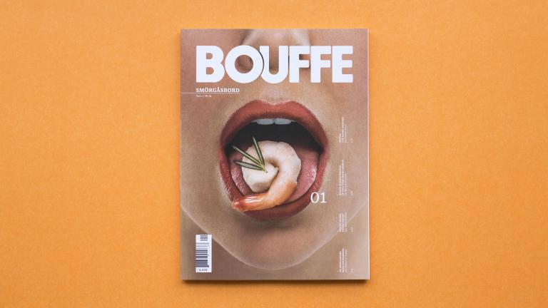 Bouffe Magazine #1, Montréal, 2015
