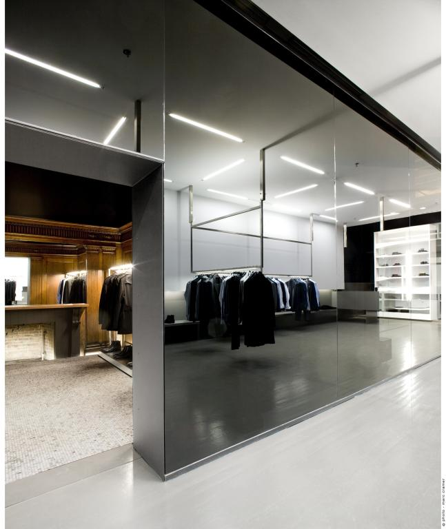 Michel Brisson boutique, Montreal, 2011