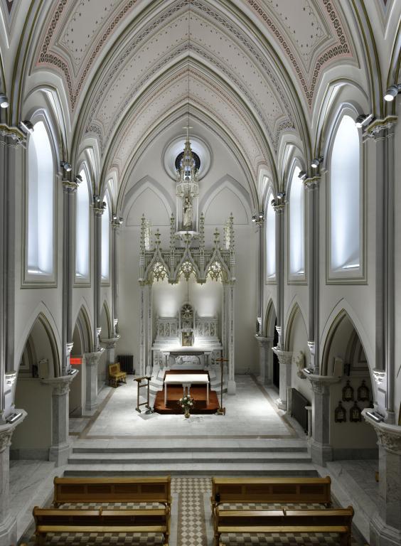 Carmel de Montréal - restauration de la chapelle, Montréal, 2011