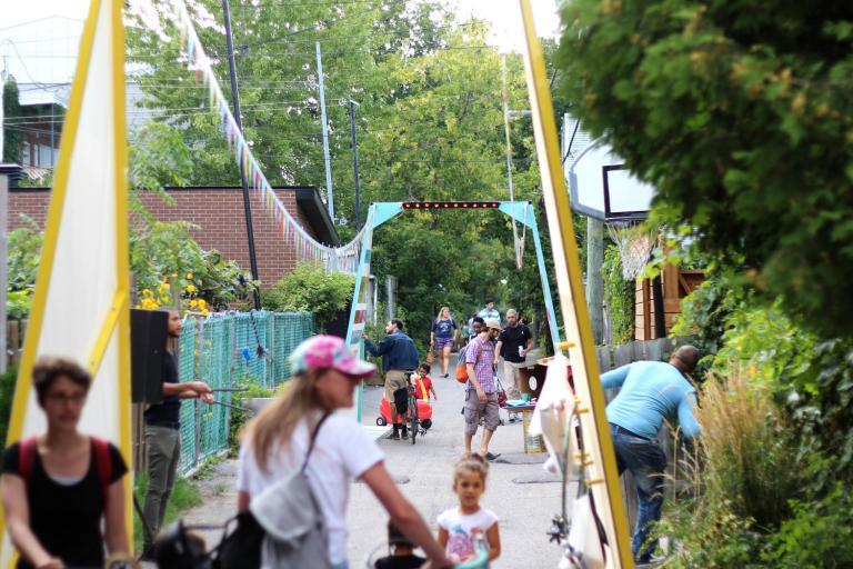 Chats de ruelles, Celebrations of Montréal's 375th Anniversary, 2017