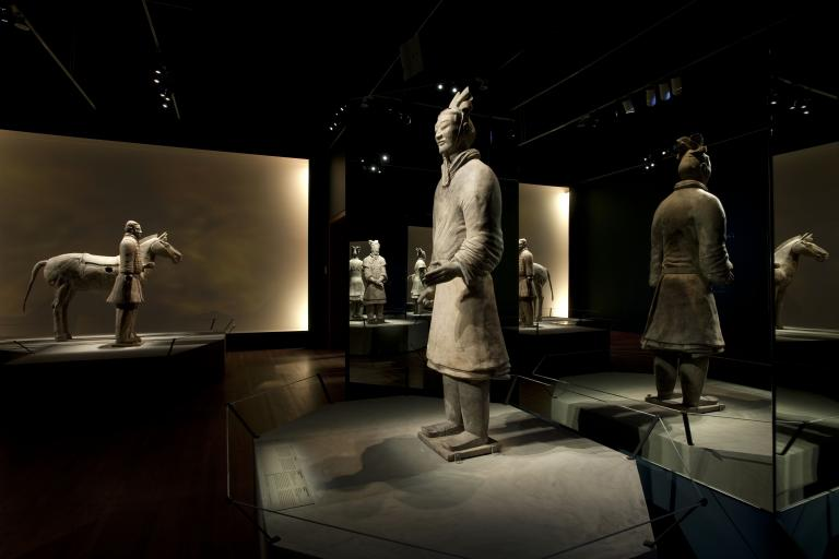 The Warrior Emperor and China's Terracotta Army, Exhibition at the Montréal Museum of Fine Arts, 2011