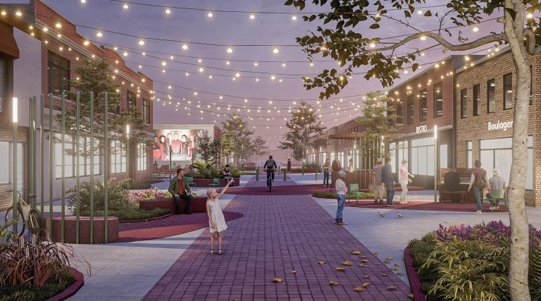 Dame Flore, Redesigning Main Street Competition, Montréal, 2021