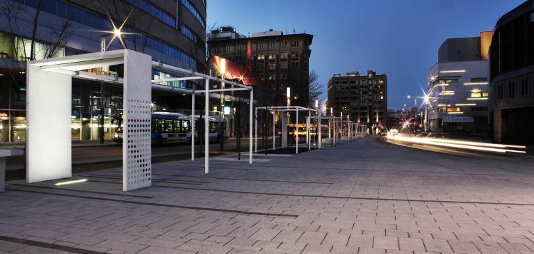 Quartier des Spectacles, Montreal, 2012