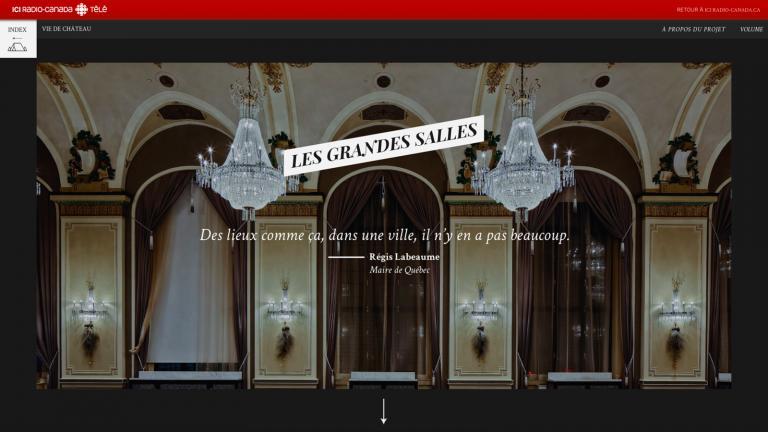 Vie de Château - webdocumentaire, 2015