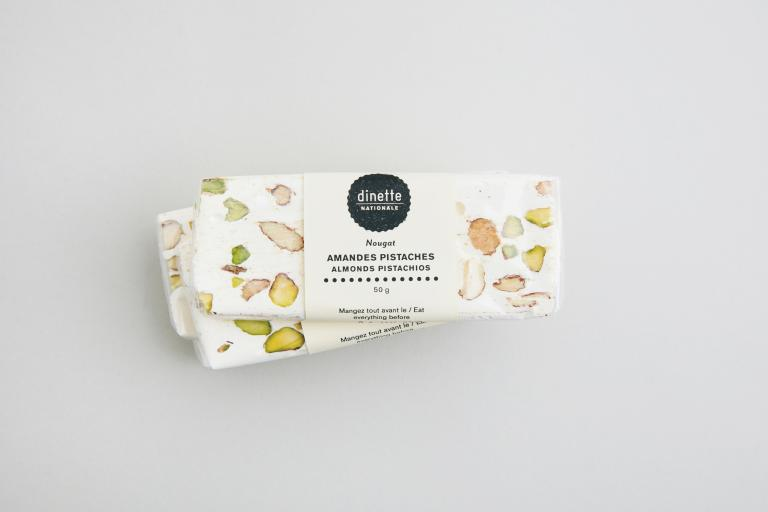 Almond and Pistachio Nougat