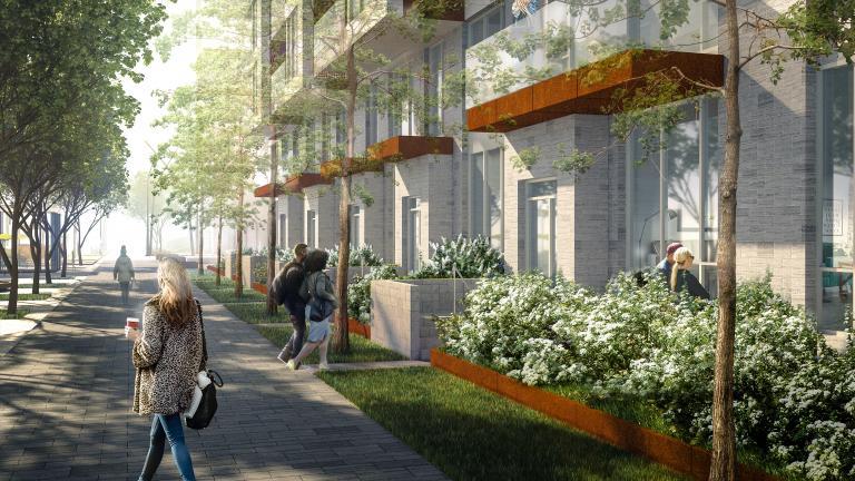 Design urbain, quartier Westbury Montréal, 2021