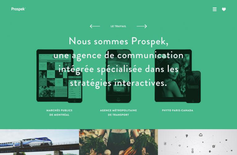 Site internet Prospek