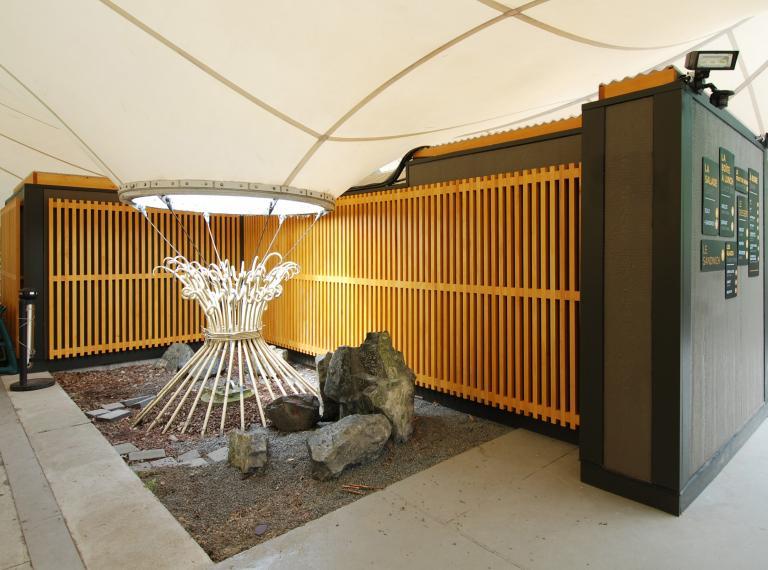 Édicule de la Tente Fuji - Jardin botanique, Montréal, 2013