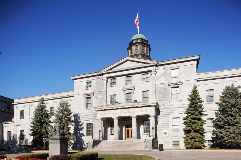 Arts Building, McGill University, Montréal, 2016
