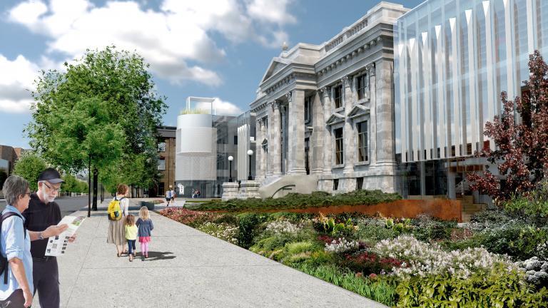 Maisonneuve Library, Montréal, Ongoing
