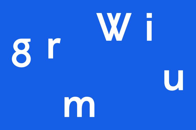 Police de caractères, Wigrum, 2011