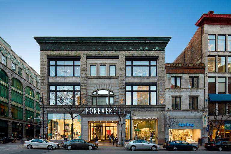 Forever XXI Flagship Store, Montréal, 2010