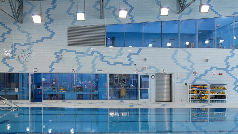Jean-Claude-Malépart swimming pool, Montreal, 2010