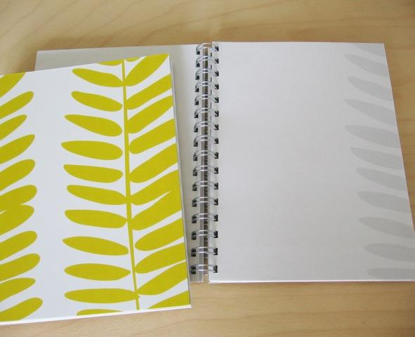 Ferns Coral notebook, Montreal, 2012