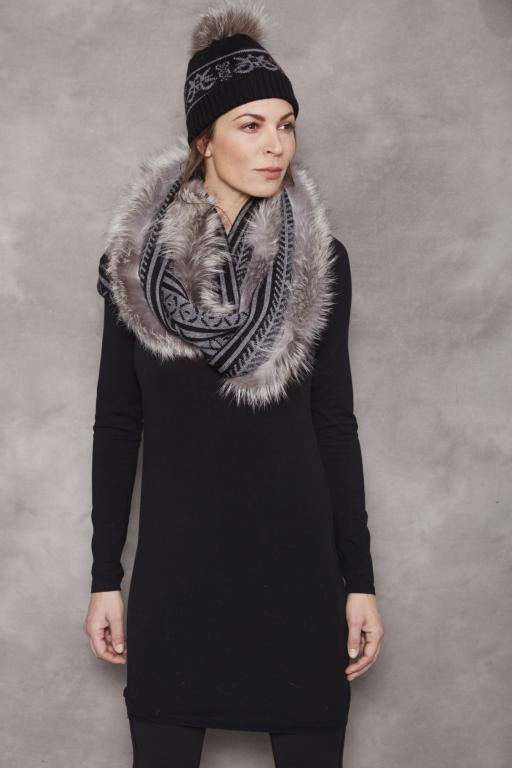 Tuque tricot Jacquard
