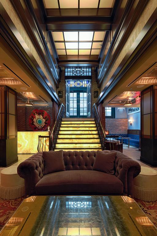 Jade Hotel, New York, 2012
