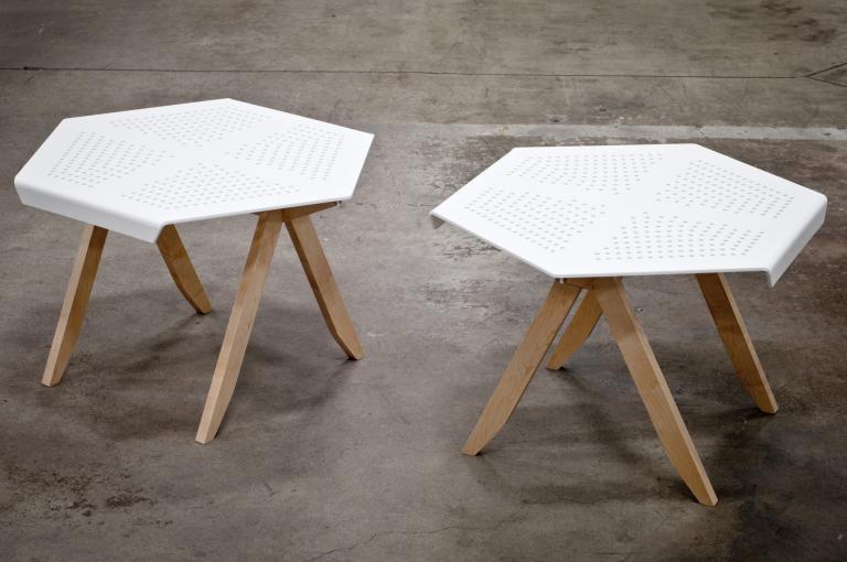 HEXA table, 2014