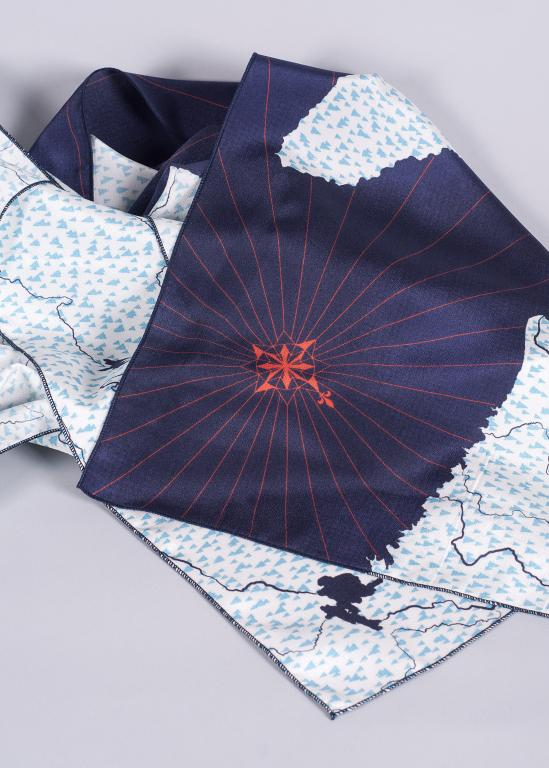 Foulards de soie Magtogoek — Fleuve