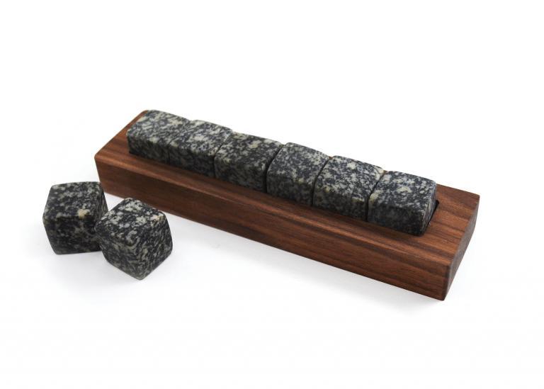 Ensemble de pierres à whisky de luxe — Gabbro