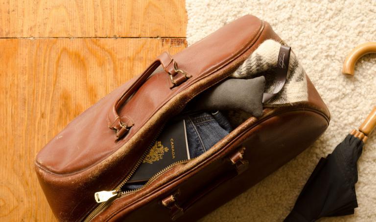 Sachet de voyage parfumé
