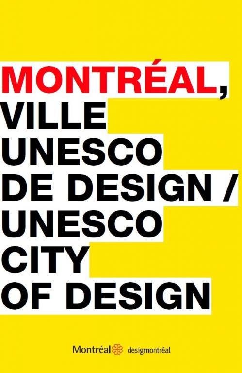 Montréal, ville UNESCO de design