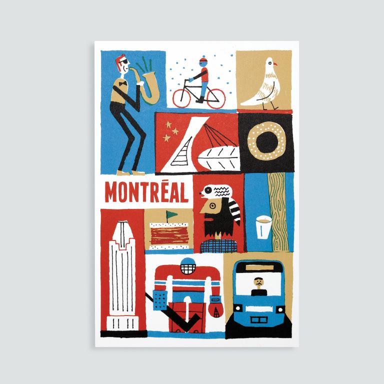 Paperole Images de Montréal Cards and Art Prints — Montréal