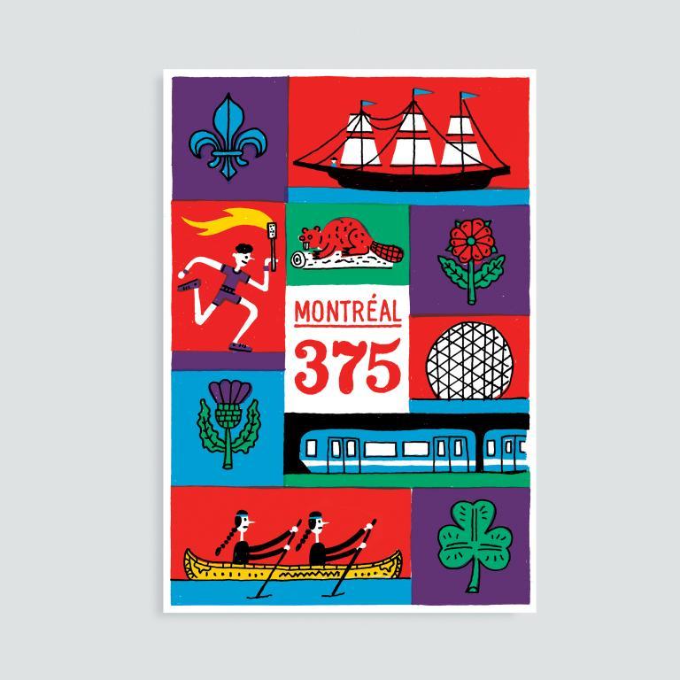 Paperole Images de Montréal Cards and Art Prints — Montréal 375